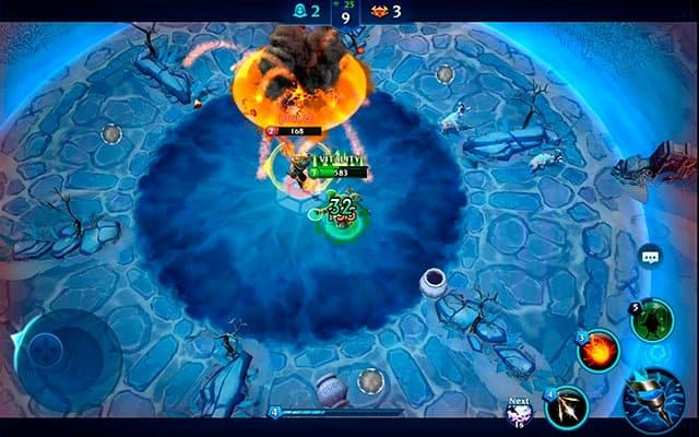 Manastorm Arena of Legends gameplay screenshot