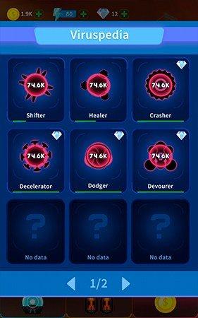 Virus War how to get gems
