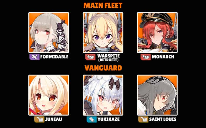 Azur Lane best fleet example whitecrow720