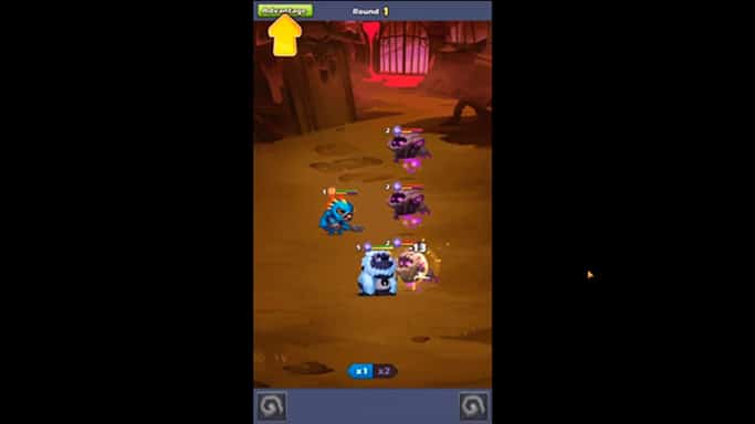 Taptap Heroes on PC gameplay screenshot