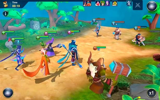Idle War computer gameplay screenshot