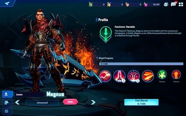 Crystalborne Heroes of Fate Magnus Hero