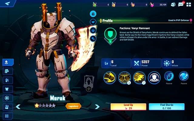 Crystalborne Heroes of Fate Merak Hero