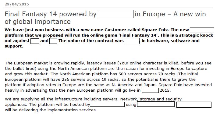 Gamer Escape Rumor FFXIV EU Servers Opening In October