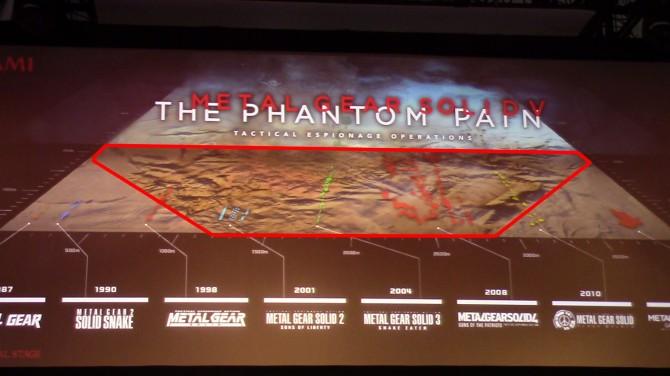 Metal Gear Solid V-Mapa