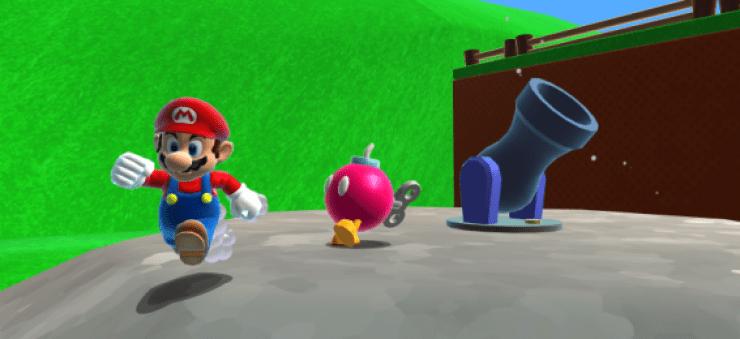 Nintendo Obliga A Retirar El Nivel De Super Mario 64 Hecho En Unity
