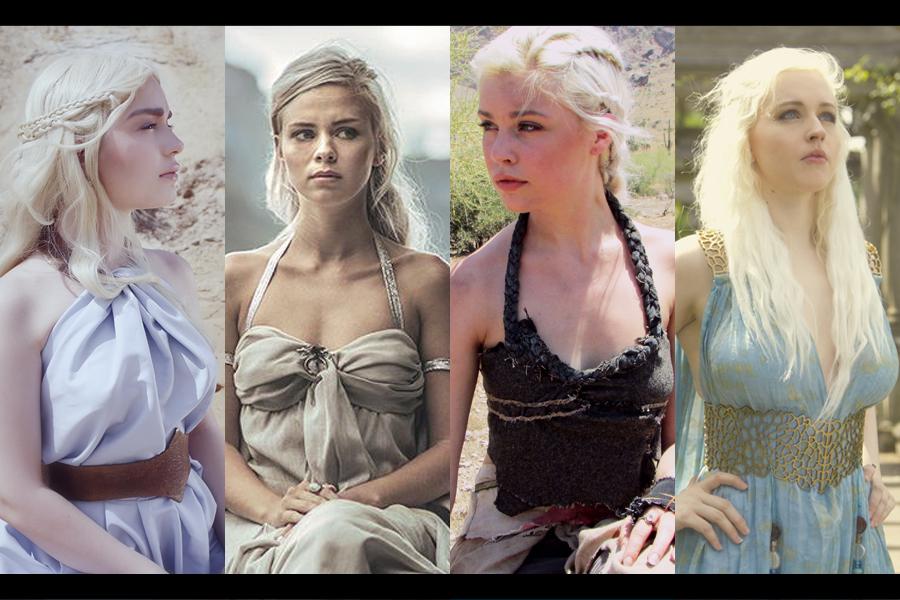 ¡Fuego y sangre! 12 impactantes cosplays de Daenerys Targaryen