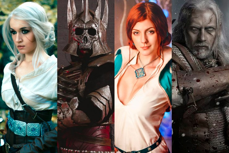 Portada Cosplay The Witcher