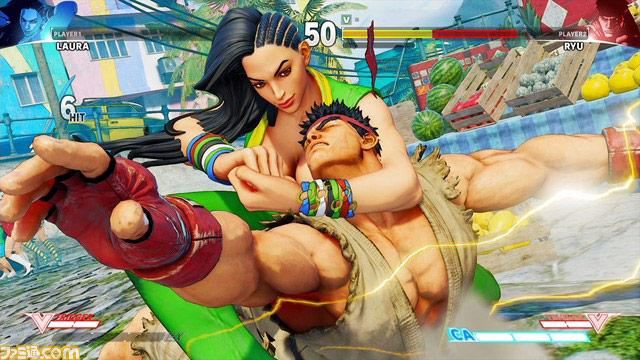 Laura street Fighter V (2)