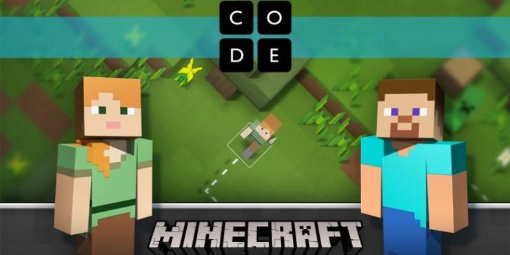 code-org-hour-of-code-minecraft-aprendizaje-aprender-programacion-basica-por-bloques-microsoft-alianza-educacion-1
