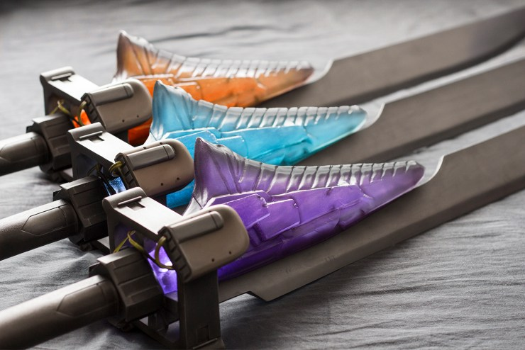 Destiny Cosplayer Eric Newgard Swords