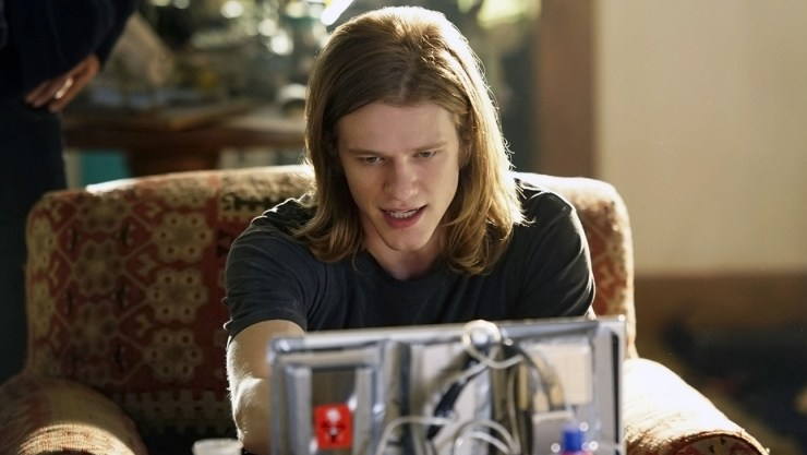 "MACGYVER, a reimagining of the classic series, is an action-adventure drama about 20-something Angus ""Mac"" MacGyver (Lucas Till, pictured) who creates a clandestine organization within the U.S. government where he uses his extraordinary talent for unconventional problem solving and vast scientific knowledge to save lives. Under the aegis of the Department of External Affairs, MacGyver takes on the responsibility of saving the world, armed to the teeth with resourcefulness and little more than bubble gum and a paper clip. This fall, MACGYVER will be broadcast Fridays (8:00-9:00 PM, ET/PT) on the CBS Television Network. Photo: Ron P. Jaffe/CBS ©2016 CBS Broadcasting, Inc. All Rights Reserved"
