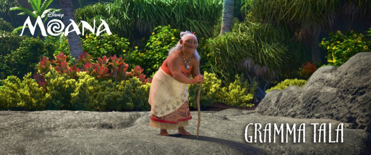 """RACHEL HOUSE (""""Whale Rider,"""" """"Hunt for the Wilderpeople"""") voices GRAMMA TALA, Moana's confidante and best friend, who shares her granddaughter's special connection to the ocean. ©2016 Disney. All Rights Reserved."""
