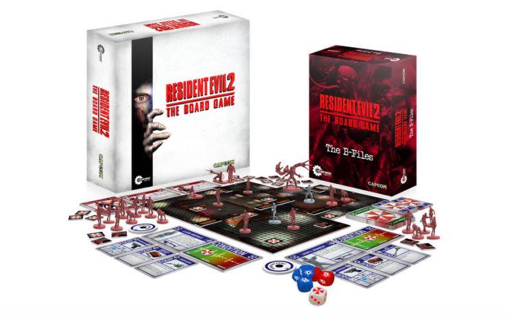 Juego De Mesa De Resident Evil 2 Sera Lanzado En 2018
