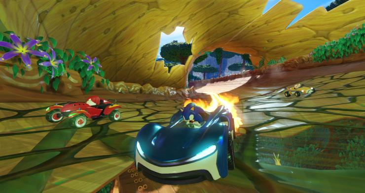 SEGA - Team Sonic Racing