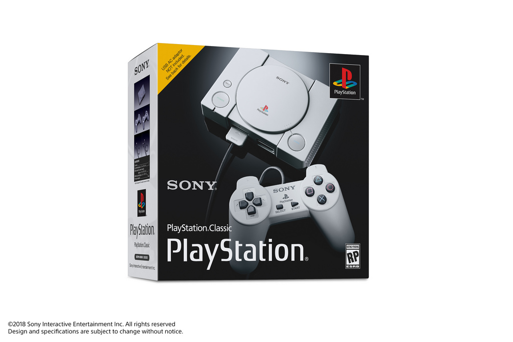 PlayStation Classic anunciada por Sony, incluirá 20 juegos preinstalados