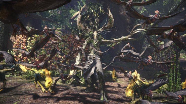 Monster Hunter World - The Witcher III