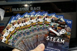Steam Gift Cards Now Available Digitally; Here are the Details