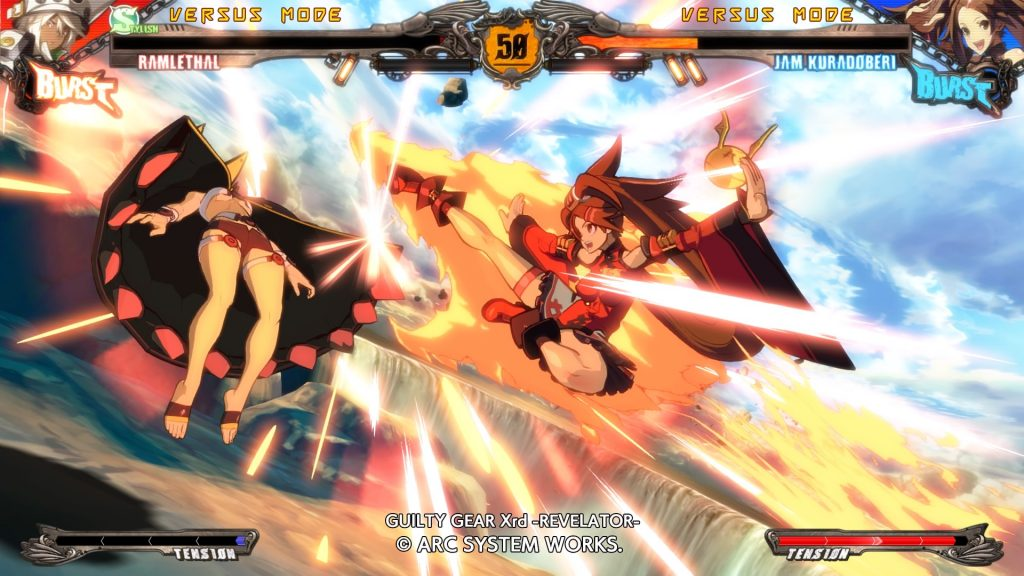 GUILTY GEAR Xrd -REVELATOR Ramlethal Vs Jam