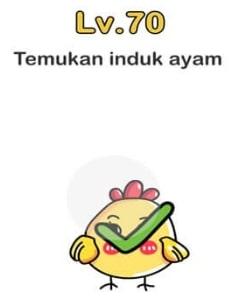 Temukan Induk Ayam Brain Out : temukan, induk, brain, Temukan, Induk, Brain, Level, Dengan, Mudah