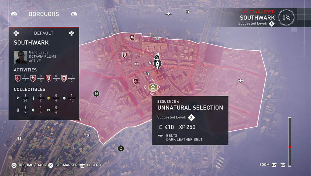 Assassins Creed Syndicate Mission Map