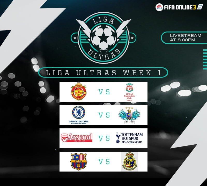 liga ultras fo3 week 1