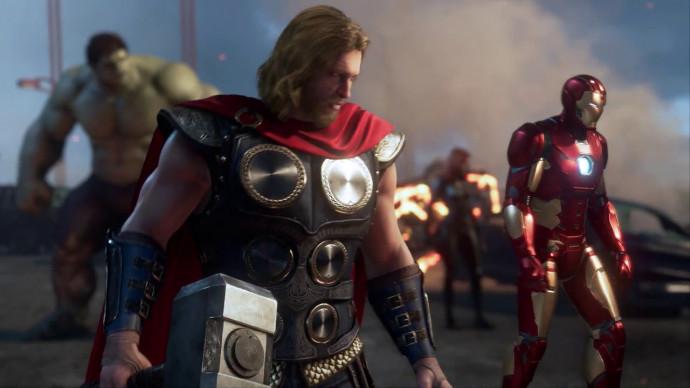 marvel s avengers in