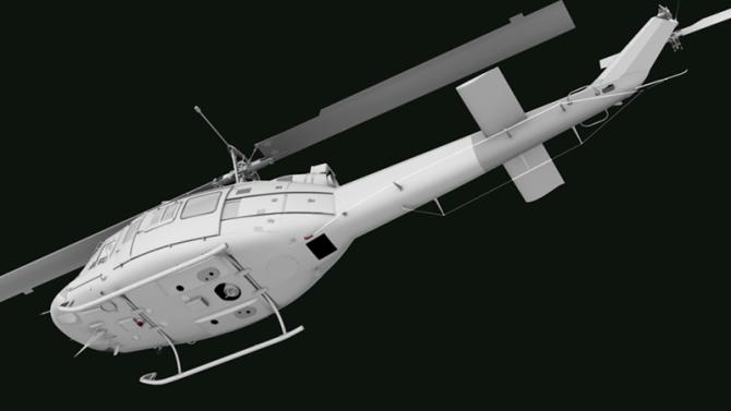 UH-1J_rear