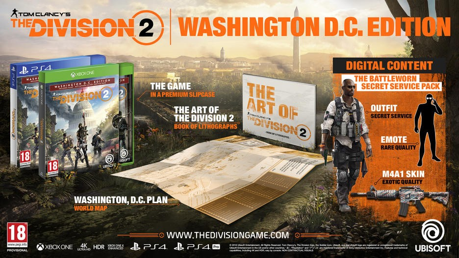 Buy Tom Clancy's The Division 2 Washington. D.C. Edition PS4