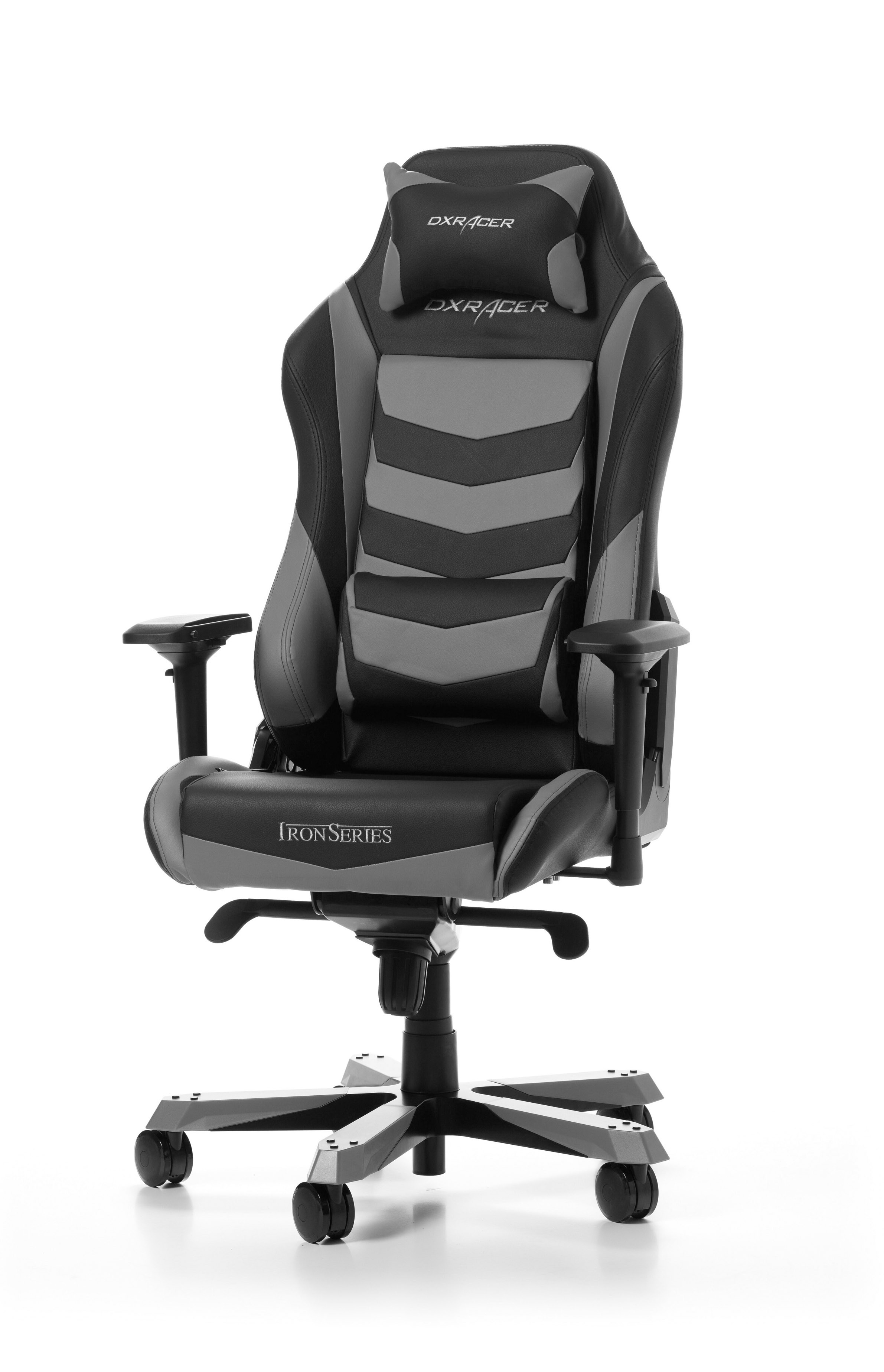 Dxracer Office Chair Dxracer Iron Series I166 Ng Grey Gaming Chair
