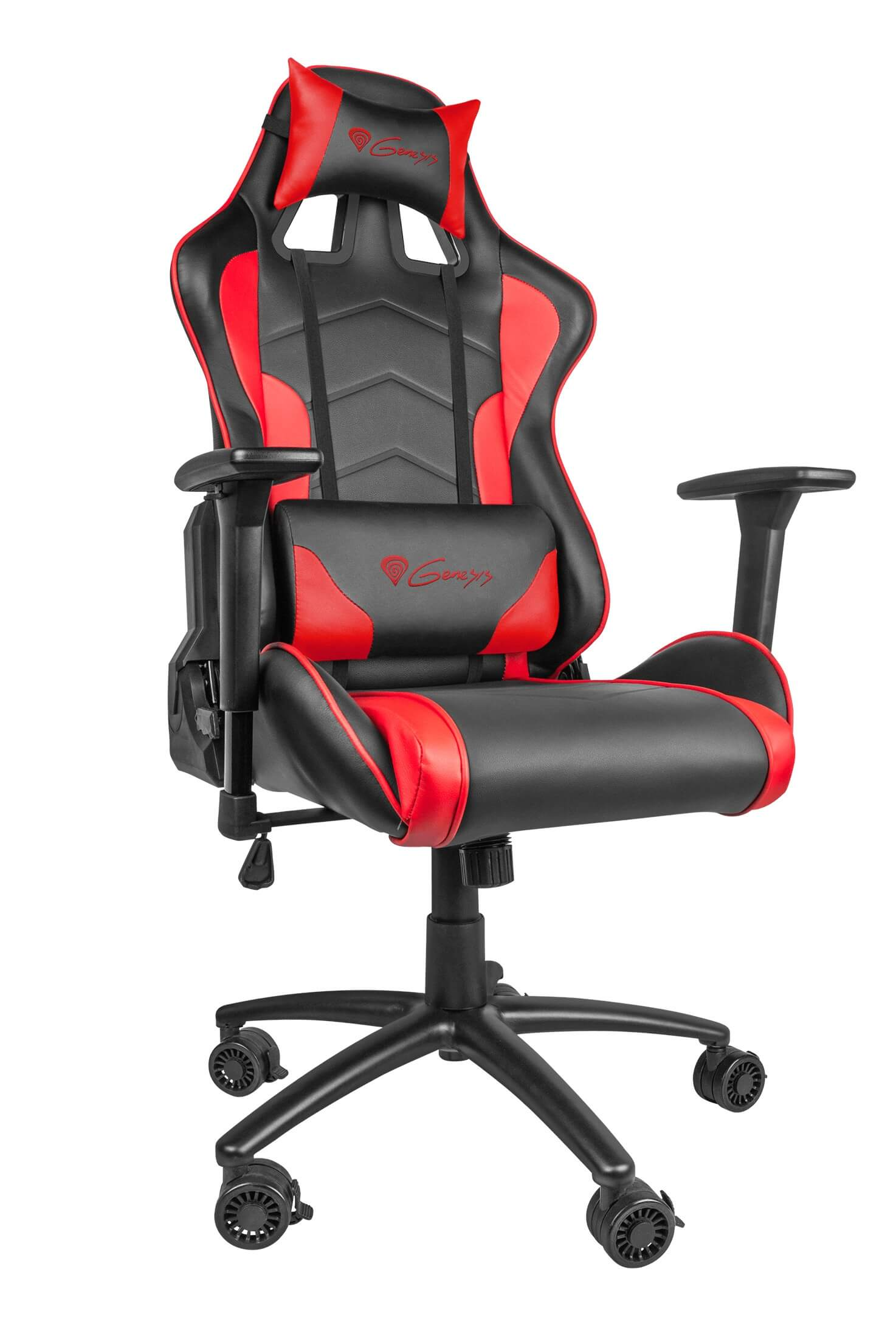 Gamers Chairs Gaming Chair Genesis Nitro 880 Black Red