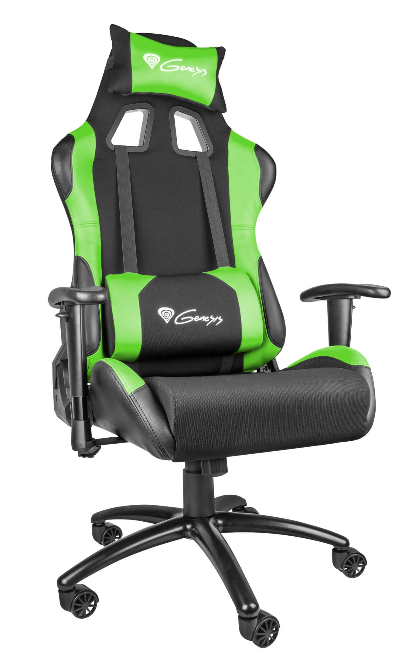 Gamers Chairs Gaming Chair Genesis Nitro 550 Black Green
