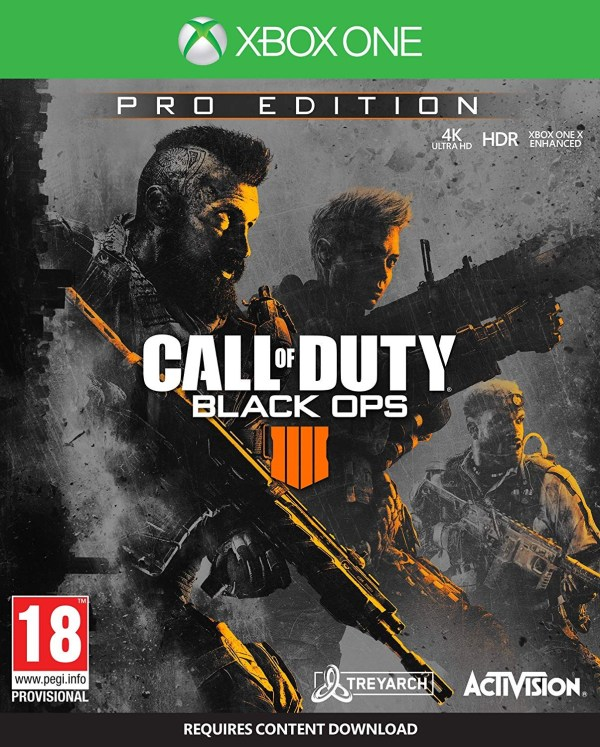 Call Of Duty Black Ops 4 Pro Edition Xbox