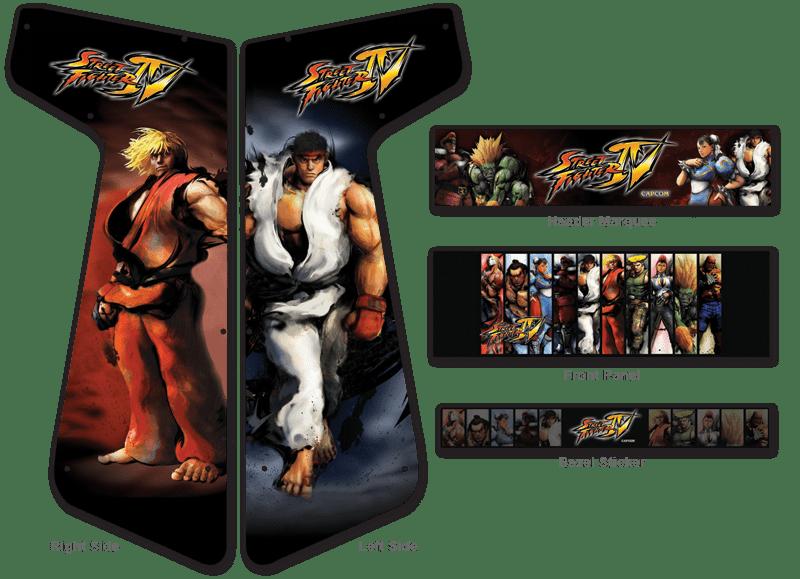 187 Custom Permanent Full Size Graphics Game Room Graphics