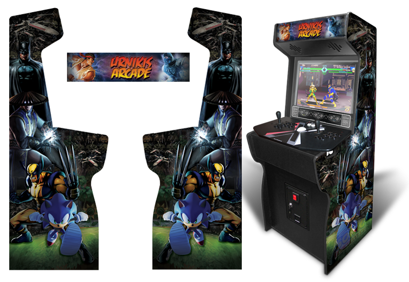Mame Cabinet Graphics