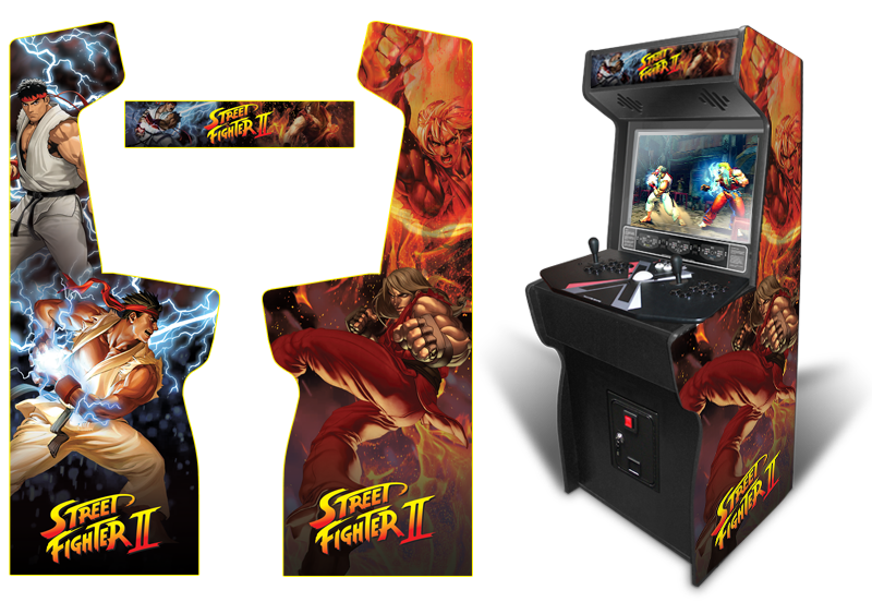 Customer Submitted: Custom Permanent Full Size Street Fighter II ...