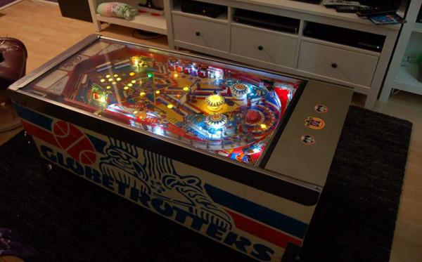 Pinball Machine Coffee Table  Gameroom Junkies