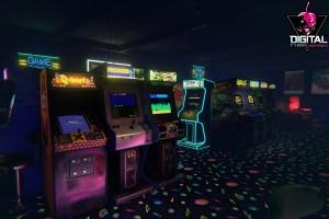 arcade virtual reality gameroom backgrounds desktop
