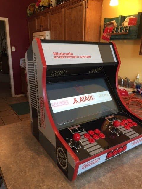 Bartop Arcade Kit Deluxe  Cam Lock Graphics Control Kit