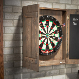 Wood Dart Board Case