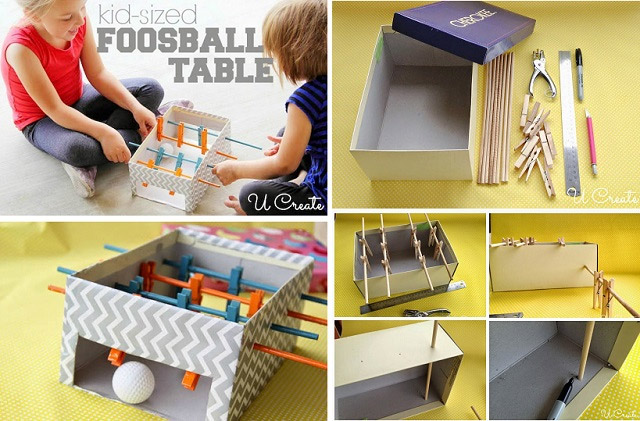 Mini Foosball Table