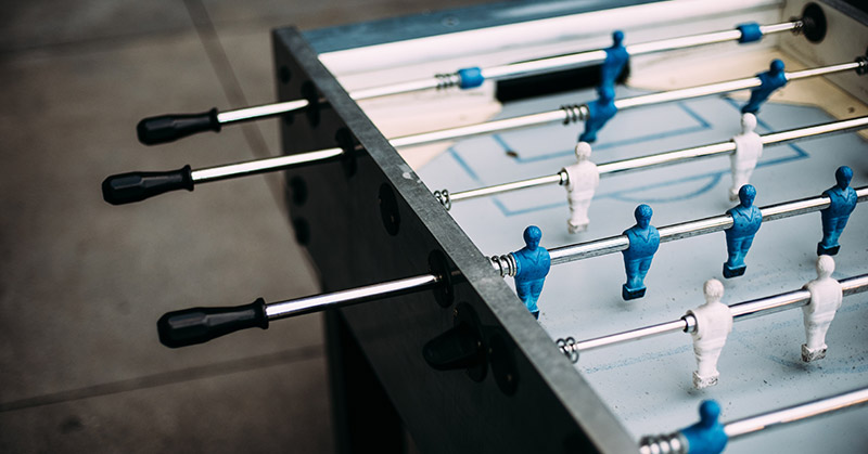 Practice Foosball by Yourself