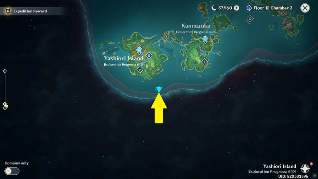 Until you complete the orobashi's legacy quest, yashiori island will continue to be engulfed in torrential rains and heave thunderstorms. Yashiori Island All 30 Electroculus Locations Genshin Impact Inazuma