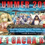 JUST WANT THE ★5 CE! — FGO Dead Heat Summer Race! The Ishtar Cup of Hopes and Dreams 2019