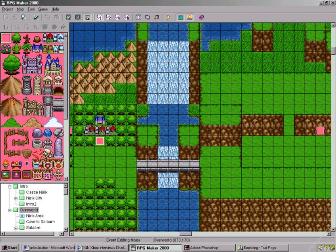 RPG Maker 2003 Game development - Software Review