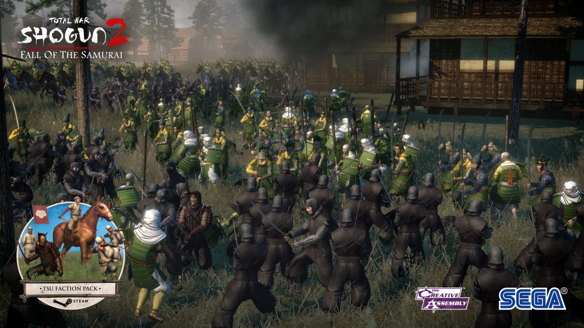 Shogun Total War Køb Total War Shogun 2 Fall Of The Samurai Pc Spil