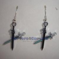 Sword Art Online  Kiritos Sword Earrings