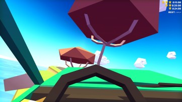 First person racing presents a whole new challenge. Slowdrive, developed by Onebraverobot.