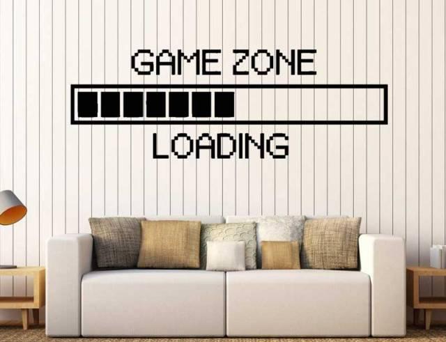 Decorazioni e grafiche in stile gaming