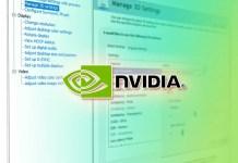Nvidia Control Panel Setting